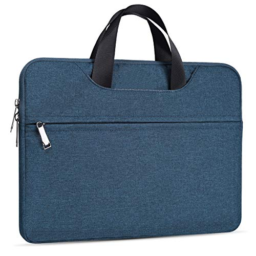15.6 Inch Laptop Case for Dell Inspiron 15 5000 7000, Acer Aspire 5,HP Envy x360/Spectre x360/Pavilion 15.6/HP OMEN 15/Chromebook 15,MacBook Pro 16 Inch A2141, Asus Vivobook 15.6 Sleeve Case(Blue)