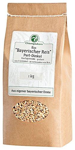 Chiemgaukorn Bio Perl-Dinkel / Bayerischer Reis 1 kg, Urdinkel