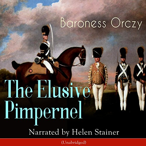 The Elusive Pimpernel audiobook cover art