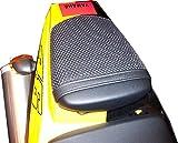 Cubierta TRIBOSEAT para Asiento Antideslizante Accesorio Personalizado Negro Compatible con Yamaha YZF R6 (2003-2005)