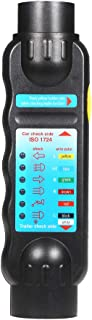 Sangmei 12V 7 pinos para reboque luz testador caixa de cavalo caravana carro caminhão luz elétrica diagnóstico testador de...