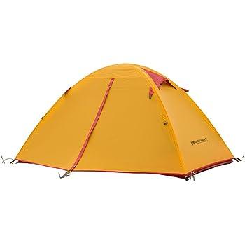Weanas テント 2-3人用 シリコン 超軽量 登山用 2重層式 防水 耐水圧4000mm ダブルウォールテントキャンプ用品 紫外線防止 登山 折りたたみ 防水 通気性 アウトドア