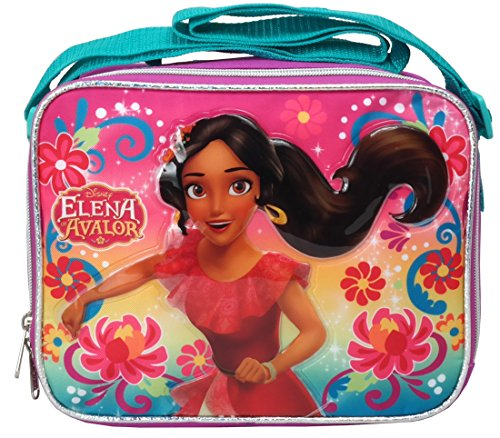 Princess Elena Avalor Soft Lunch kit Bag