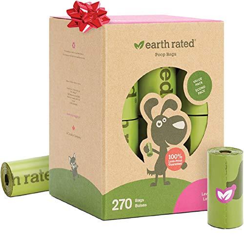 Earth Rated - Pack de bolsas para recoger excrementos de per
