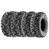 SunF 25x8-12 25x10-12 ATV UTV Tires 6 PR Tubeless A041 [Bundle]