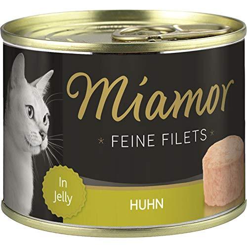 Miamor Feine Filets Huhn in Jelly | 12x 185g Katzenfutter nass