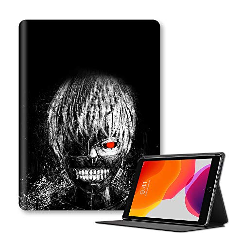 Tokyo Ghoul 3D Flip Case for iPad Unique Printed Comic Pattern Protective Cover for iPad (Color : A11, Size : Ipad 9.7-inch(ModelA1954))