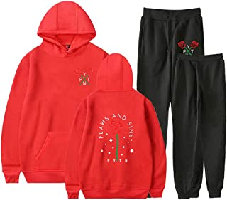 Landove Payton Moormeier Tracksuit Two Piece Unisex Hoodie and Pants A31118WYKZ