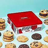12 Assorted Fresh Baked Cookies Gourmet Gift Basket Tin