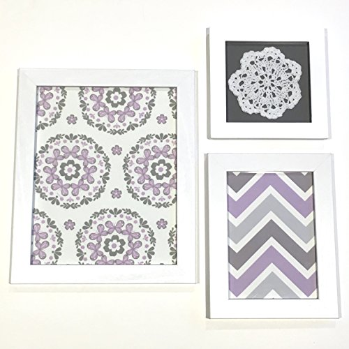 Wall Accent Art Decor Girls Room Lavender Purple