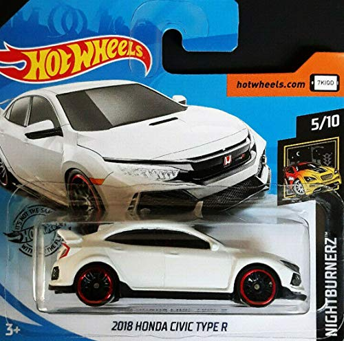 Hot.Wheels 2018 H-o-n-d-a Civic Type R - 1:64 - weiß