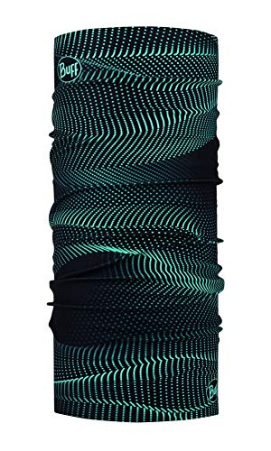 Buff Original Multifunktionstuch, Glow Waves Black, One Size