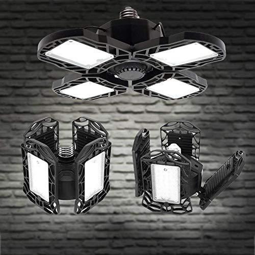 GTRBV Direct LED Garage Lampen, E27 6000K 150W 12000LM Verstelbare Garage Licht Voor Garage, Magazijn, Workshop, Kelder, Gym, Keuken