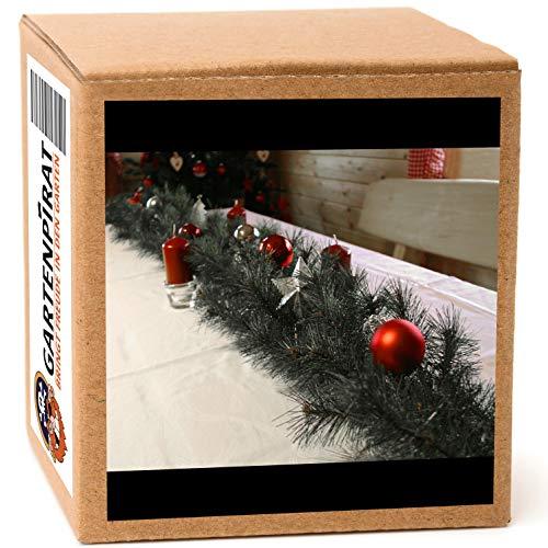 Girlande 180 cm Tanne grün mit Spritzguss-Nadeln für Weihnachten