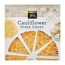 365 Everyday Value, Cauliflower Pizza Crust, 8 oz (Frozen)