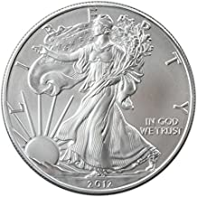 2012-1 Ounce American Silver Eagle Low Flat Rate Shipping .999 Fine Silver Dollar Uncirculated US Mint