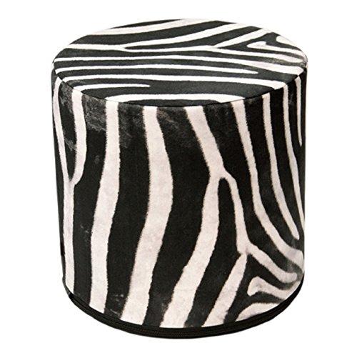 Seduta Pouf Zebra–Pouf Animal Print–Sgabello Pouf Puff I Pouf Sgabello in Feltro L Poggiapiedi L a mano l Designer Look