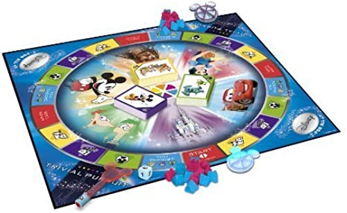 Trivial Pursuit Ultimate Disney Edition by Hasbro Games