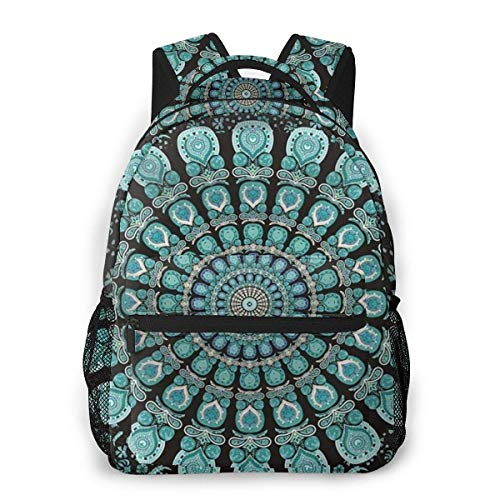 Lawenp Multifunctional Casual Backpack,Fashion Trend Knapsack,Cute Backpack11.5 X 16'''' X 8'''' Bohemian (Green)