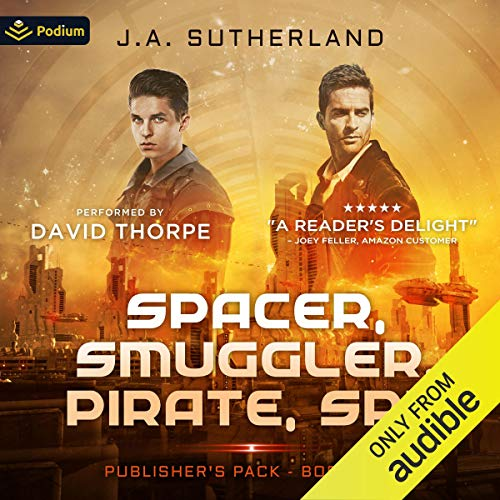 Spacer, Smuggler, Pirate, Spy: Publisher's Pack cover art