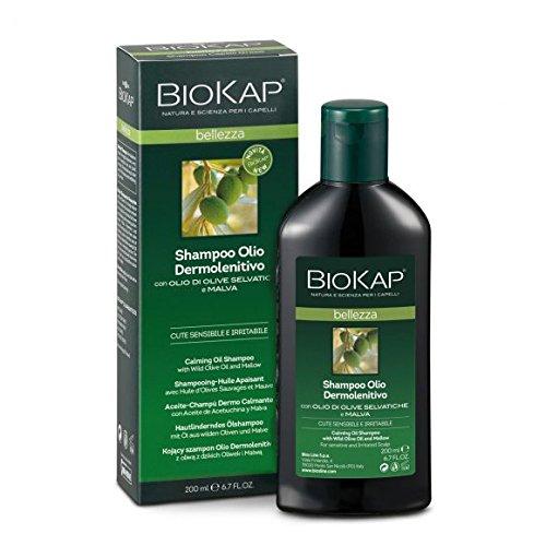 Biokap Shampoo Olio Dermolenitivo 200 ml Cute Sensibile e Irritabile