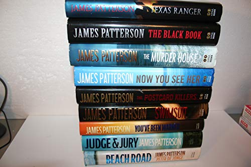 James Patterson 9-title, 1st Edition, Stand-alone Novels Collection