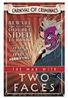 """BATMAN TWO FACE, Officially Licensed Original Artwork, 3.25"""" x 5"""" - Sticker DECAL ステッカー"""