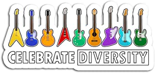 Hand Wooden Customizable Sticker Celebrate Diversity Stickers for Personalize (3 pcs/Pack)