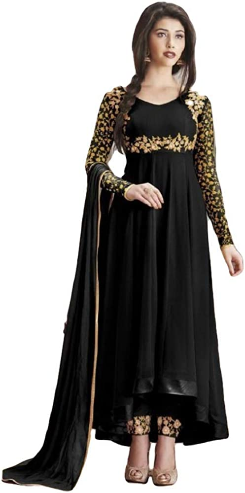 Henith Collection Online limited product Indian Pakistani Embroidered Wear Georgette Wo Brand Cheap Sale Venue