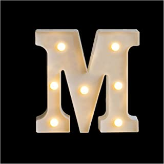 26英語アルファベットバッテリーランプ、LEDレターナイトライトクリエイティブロマンチックな結婚披露宴の装飾クリスマスギフト16cm (Color : B, Size : 16cm)