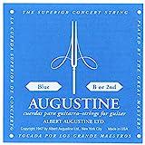 augustine corde per chitarra classica, singole si2, blu