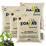 Bamboo Charcoal Air Purifying Bags - air fresheners for home, odor absorbers for...