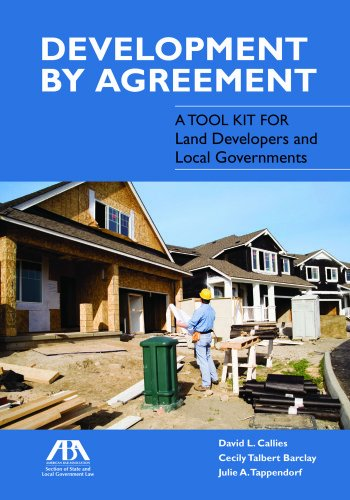 Download Development by Agreement: A Tool Kit for Land Developers and Local Governments (Trad05  13 06 2019) 1614386250