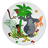 WMF Disney Dschungelbuch Kindergeschirr Kinderteller 19,0 cm, Porzellan, spülmaschinengeeignet, farb- und lebensmittelecht