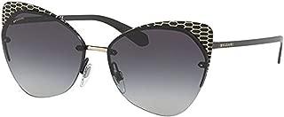 Designer Sunglasses Bundle: Bvlgari Women's BV6096 Sunglasses & Carekit