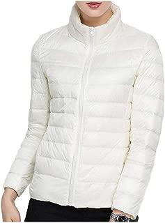 Howely Womens Packable Short Lightweight Plus-Size Jacket Outwear Jacket