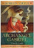 大天使ガブリエル、44pcs /セットのオラクルカード、初心者のための委員会の占いカードゲームアニメーションゲーム、英語版からのタロットカード
