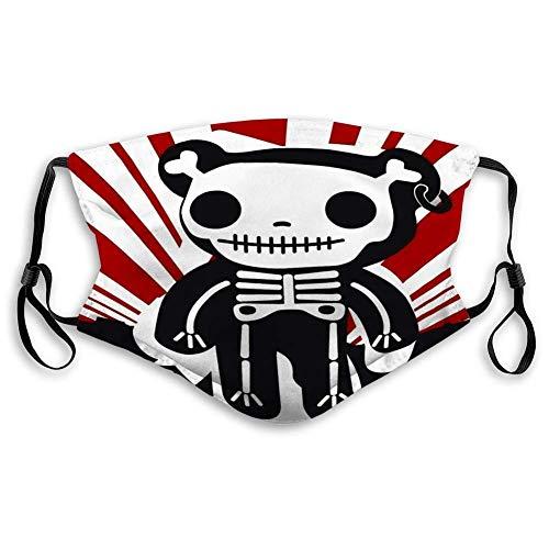 Bufanda facial unisex reutilizable para hombre, bufanda, bufandas faciales, anti polvo, bufandas de boca lavables, cerdo lindo con gafas de sol