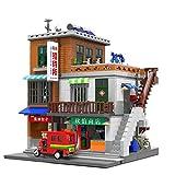 LALAmi Visión de carreteras, kit de construcción de edificios, 2706 piezas, estilo urbano, arquitectura de paisajes, edificios modulares, compatible con Lego