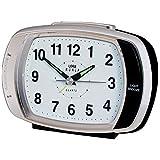 Ruhla QW 389-2SP - Reloj despertador analógico de cuarzo, varios tonos de alarma