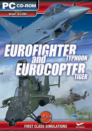 Eurofighter Typhoon and EuroCopter Tiger Add-On for Microsoft FSX and FS 2004 [UK Import]