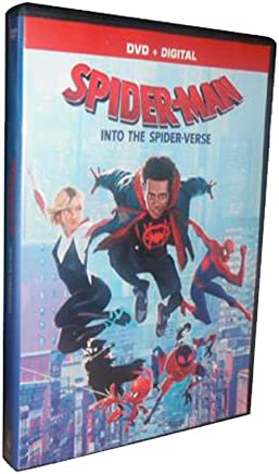 Spiderman Into The Spider Verse (DVD + Digital)