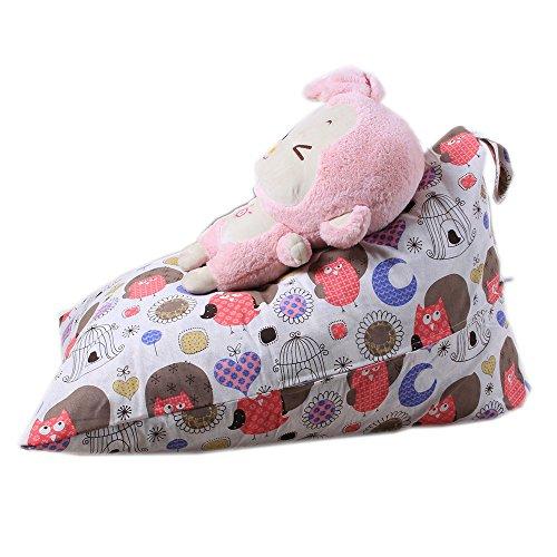 Spielzeug Aufbewahrungstaschen Hängend, Sitzsack Kinder Stofftier Kuscheltiere Aufbewahrung Aufbewahrungstasche Soft Pouch Stoff Stuhl (F)