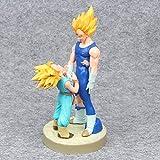 Yooped Dragon Ball Z Dramatic Showcase 4ta Temporada Super Saiyan Vegeta & Trunks Figura de accin Modelo de coleccin Juguetes 20cm Brinquedos