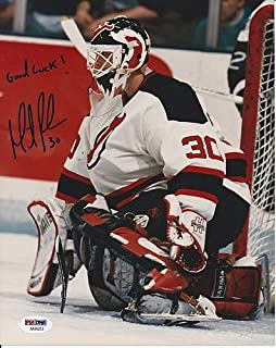 Martin Brodeur Signed New Jersey Devils 8x10 Photo - PSA/DNA Authenticated