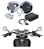 Memphis Chrome Motorcycle Speakers Audio System For Royal Enfield Himalayan
