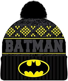 on sale 4d268 135b2 DC Comics Batman Jaquard Logo Embroidered Cuff Beanie Cap Hat Licensed New
