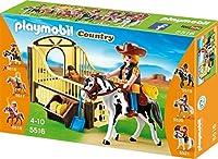 PLAYMOBIL 5516 ストール馬屋セットロデオ馬