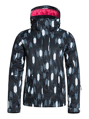Roxy Jetty JK - Chaqueta de nieve para mujer, color negro, t
