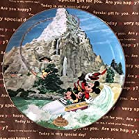 カリフォルニアランド40周年記念絵皿